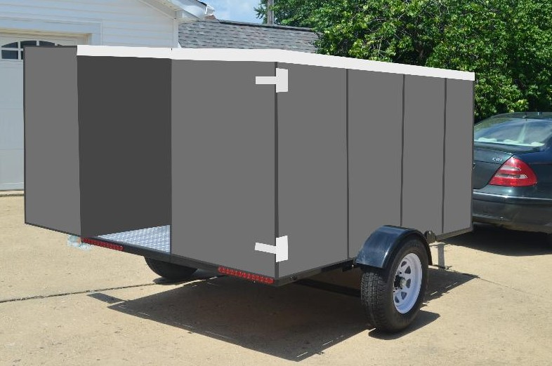 The lowering and folding trailer that transforms your life and fits